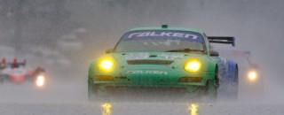 ALMS Porsche & Team Falken ALMS GT Victory At Mid-Ohio