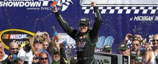 NASCAR Cup Kyle Busch gets Cup win at  Michigan