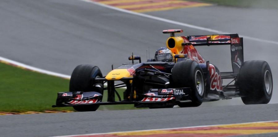 Red Bull Belgian GP - Spa qualifying report
