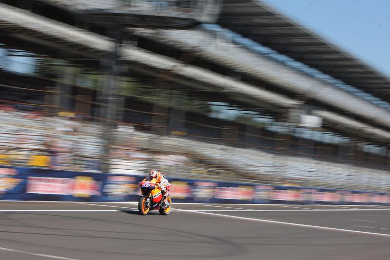 Repsol Honda Indianapolis GP qualifying report