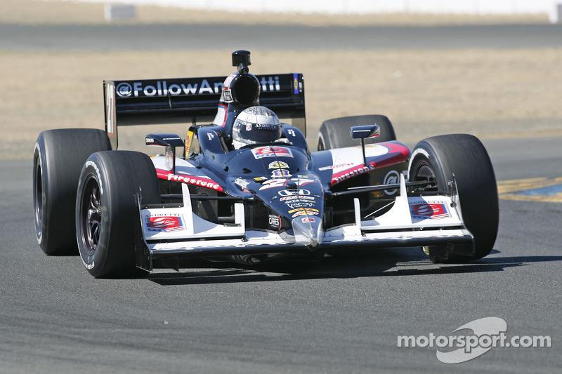 Andretti Autosport Sonoma qualifying report