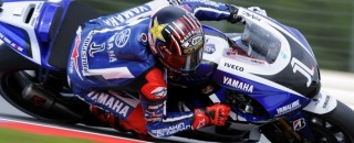 MotoGP Lorenzo grabs Friday fast time from Stoner at Misano