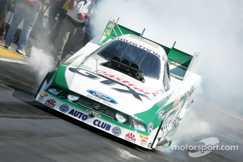 John Force Racing Indianapolis Saturday report
