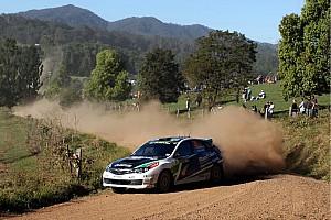 WRC Suport Class Rally Australia leg 2 summary