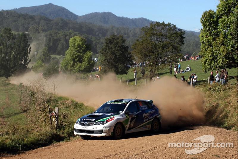 Suport Class Rally Australia leg 2 summary