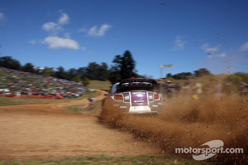 Van Merksteijn Motorsport Rally Australia final leg summary