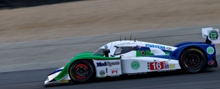 ALMS Dyson Racing grabs Laguna Seca front row