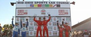 Grand-Am Ganassi & Brumos take titles at Mid-Ohio finale