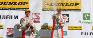 BTCC Honda duo all-square after Rockingham