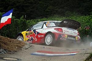 WRC Citroën heads home for Rallye de France