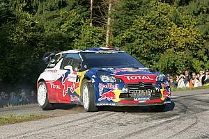 WRC Citroen claims Rallye de France leg 2 lead