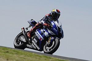 MotoGP Yamaha Australian GP Friday practice report