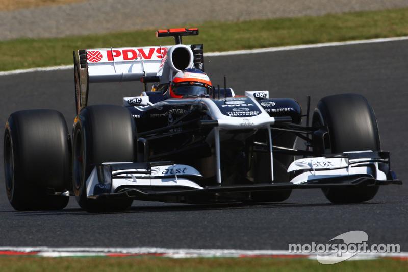Williams Korean GP - Yeongam qualifying report