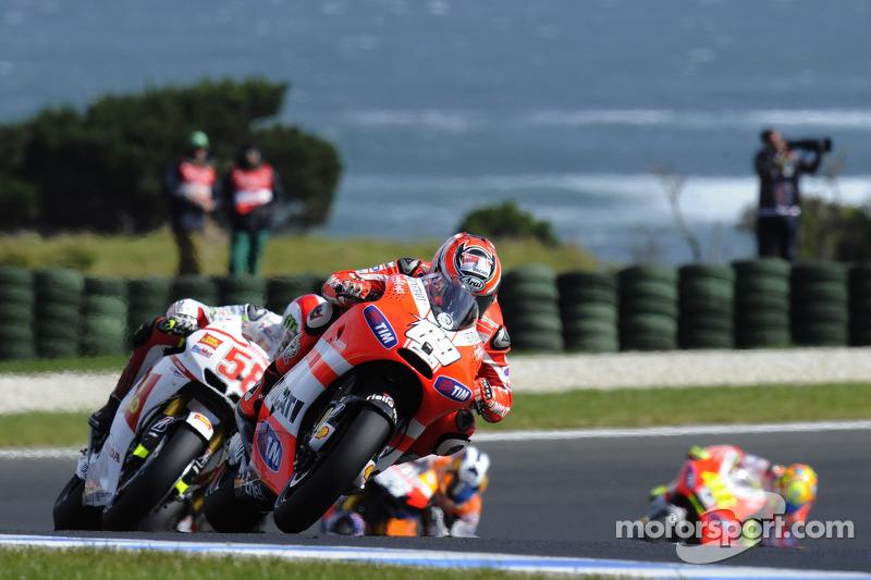 Ducati Australian GP race report