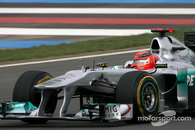 Mercedes wants Schumacher for coming years - Haug