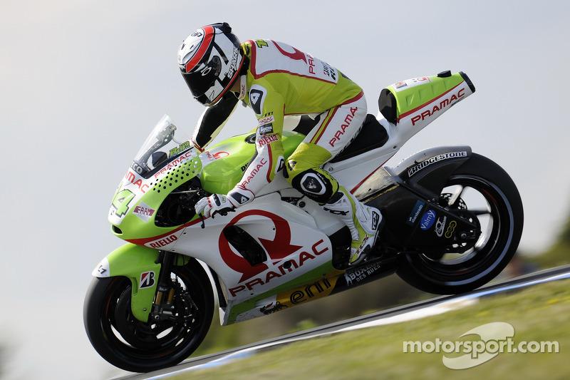 Pramac Racing Malaysian GP Friday practice report