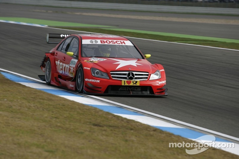 Van der Zande hit with brake issues at Hockenheim