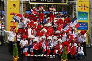 WRC Citroen Rally de España final leg summary