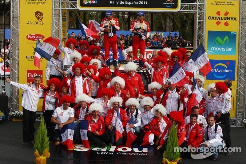 Citroen Rally de España final leg summary
