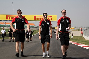 Formula 1 Marussia Virgin Indian GP Friday practice report