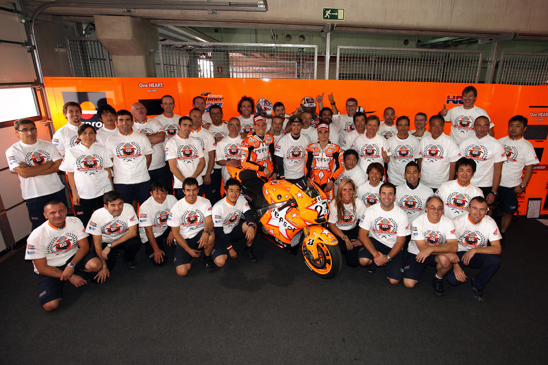 Repsol Honda to finish strong season at Valencian GP