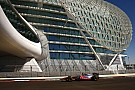 Hamilton tops the time sheets during second practice for Abu Dhabi GP