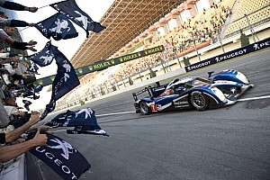 Le Mans Peugeot ends 2011 season with1-2 finish at Zhuhai