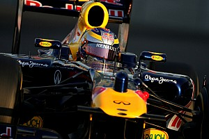Formula 1 Red Bull Abu Dhabi young driver test Wednesday report