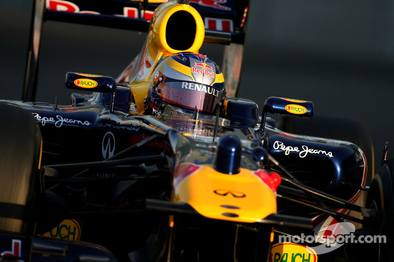 Red Bull Abu Dhabi young driver test Wednesday report