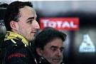 Kubica will not start 2012 season with Renault