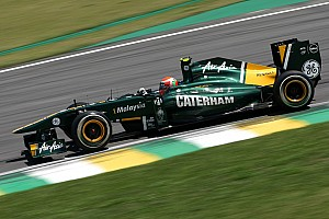 Formula 1 Team Lotus Brazilian GP Friday practice report