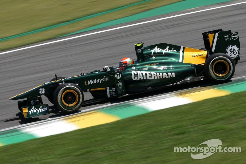 Team Lotus Brazilian GP Friday practice report