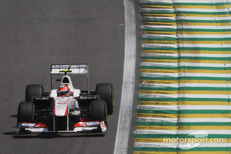 Sauber Brazilian GP race report