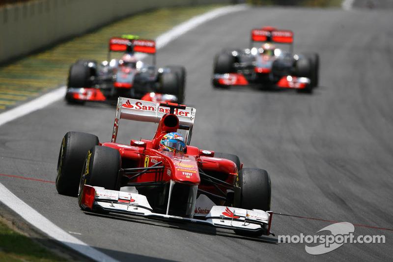 Ferrari Brazilian GP feature - Podium dreams fail to come true