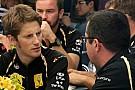 Lotus Renault's Romain Grosjean talks about the 2012 season