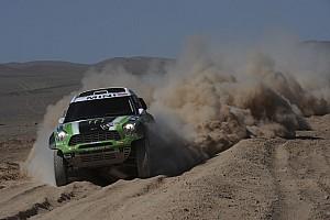 Dakar Team X-raid stage 9 report