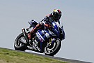 Jorge Lorenzo takes a lap at Budh International circuit