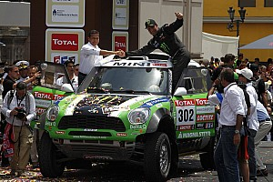 Dakar MINI Corporate praises Stéphane Peterhansel