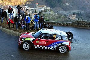 WRC MINI Monte Carlo Rally leg 2 summary
