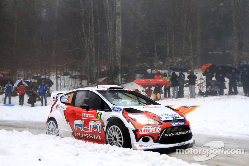 M-Sport Monte Carlo Rally final summary
