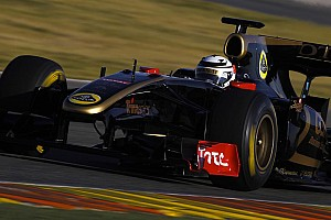 Formula 1 Raikkonen ends first test on a high note to prepare for his return