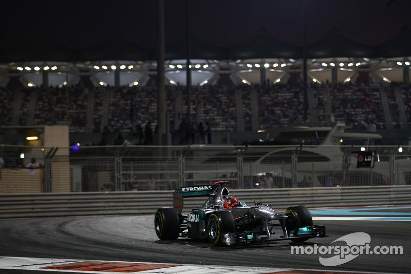 Rivals cannot write off Schumacher - Glock