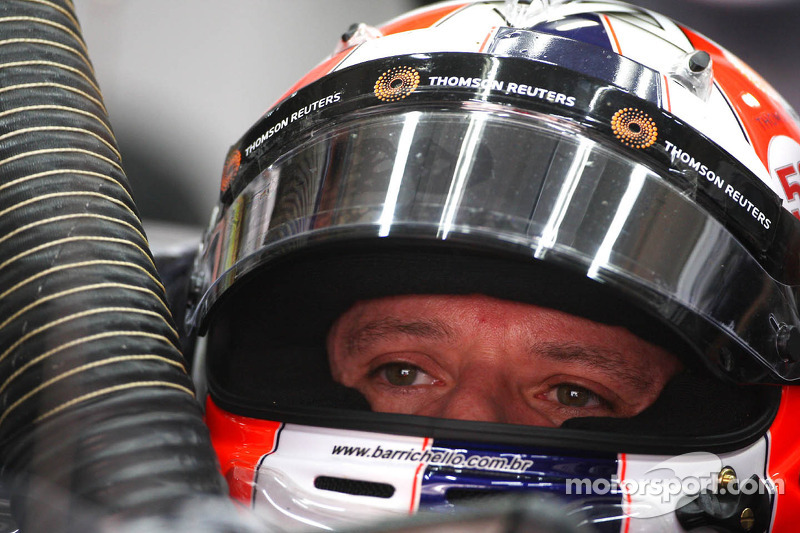 Barrichello tests under Kanaan's watchful eye at Sebring
