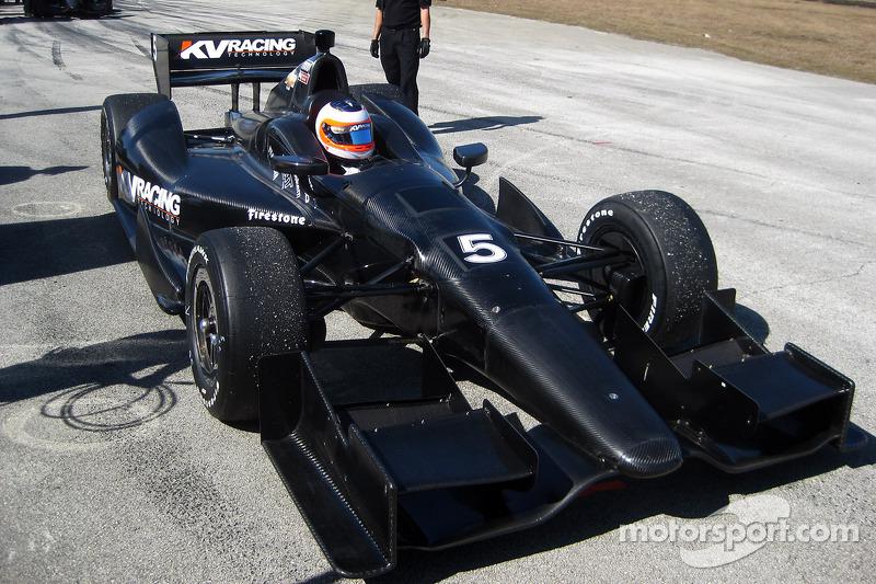 KV Racing Sebring January test day 1