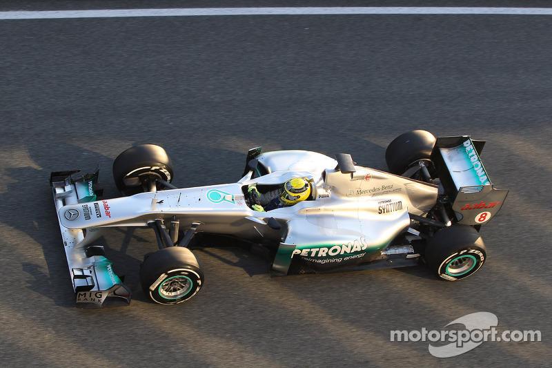 Rosberg fastest on day 3 of Jerez pre-season testing