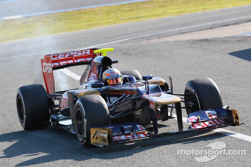 Toro Rosso Jerez test day 4 report