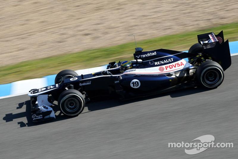 Williams Jerez test day 3 report