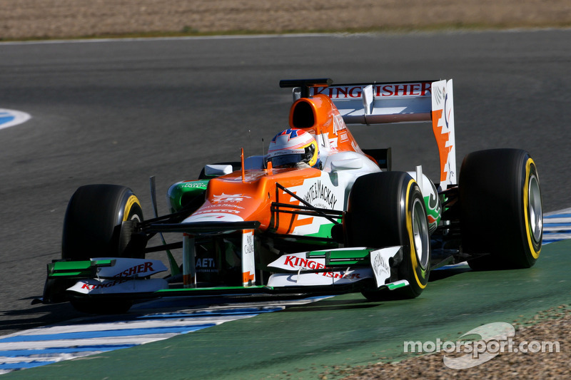 Force India Jerez test day 2 report
