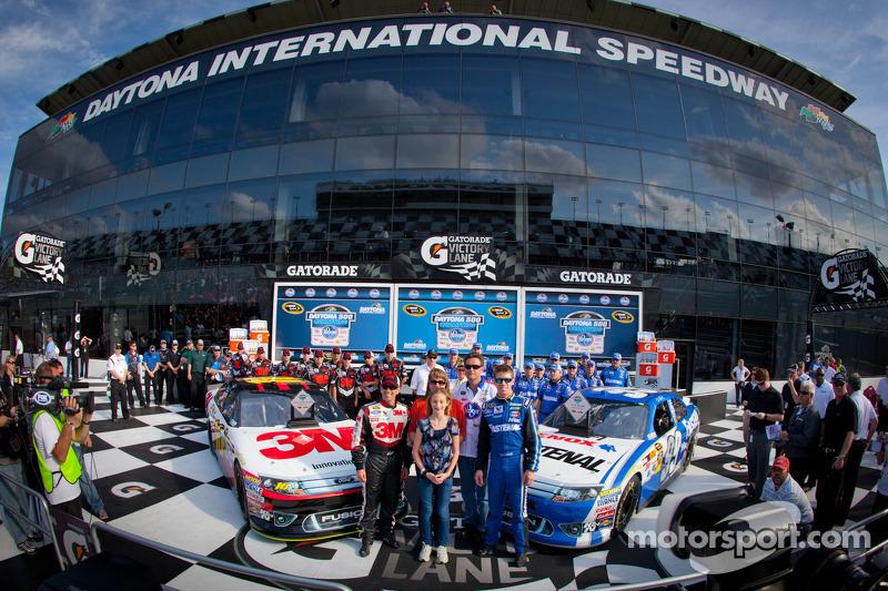 Roush Fenway Sweeps Front Row for Daytona 500