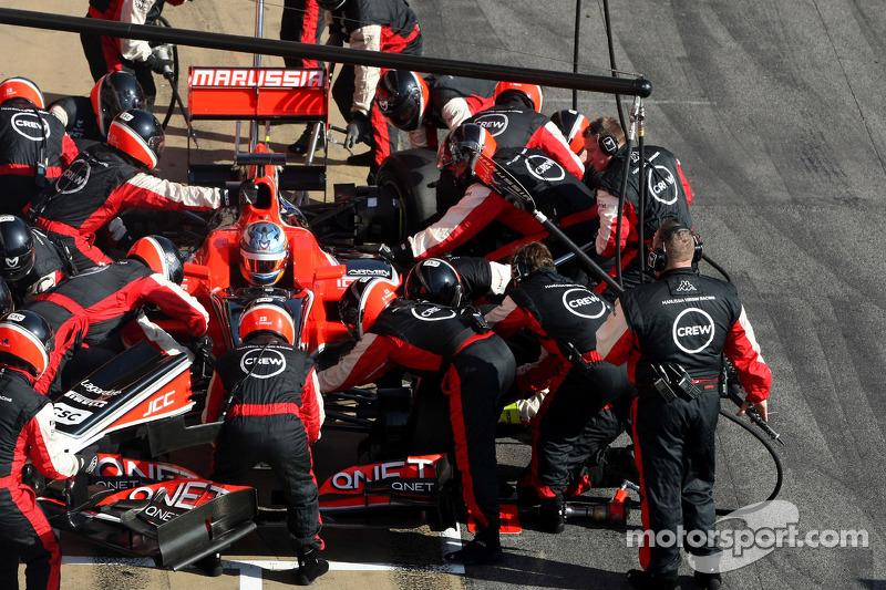 Marussia Barcelona testing -  Day 1 report